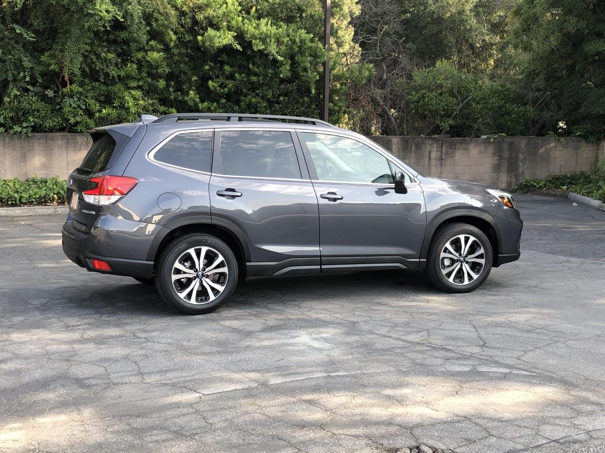 grey car suv subaru forester family car 2020 Subaru Forester Limited