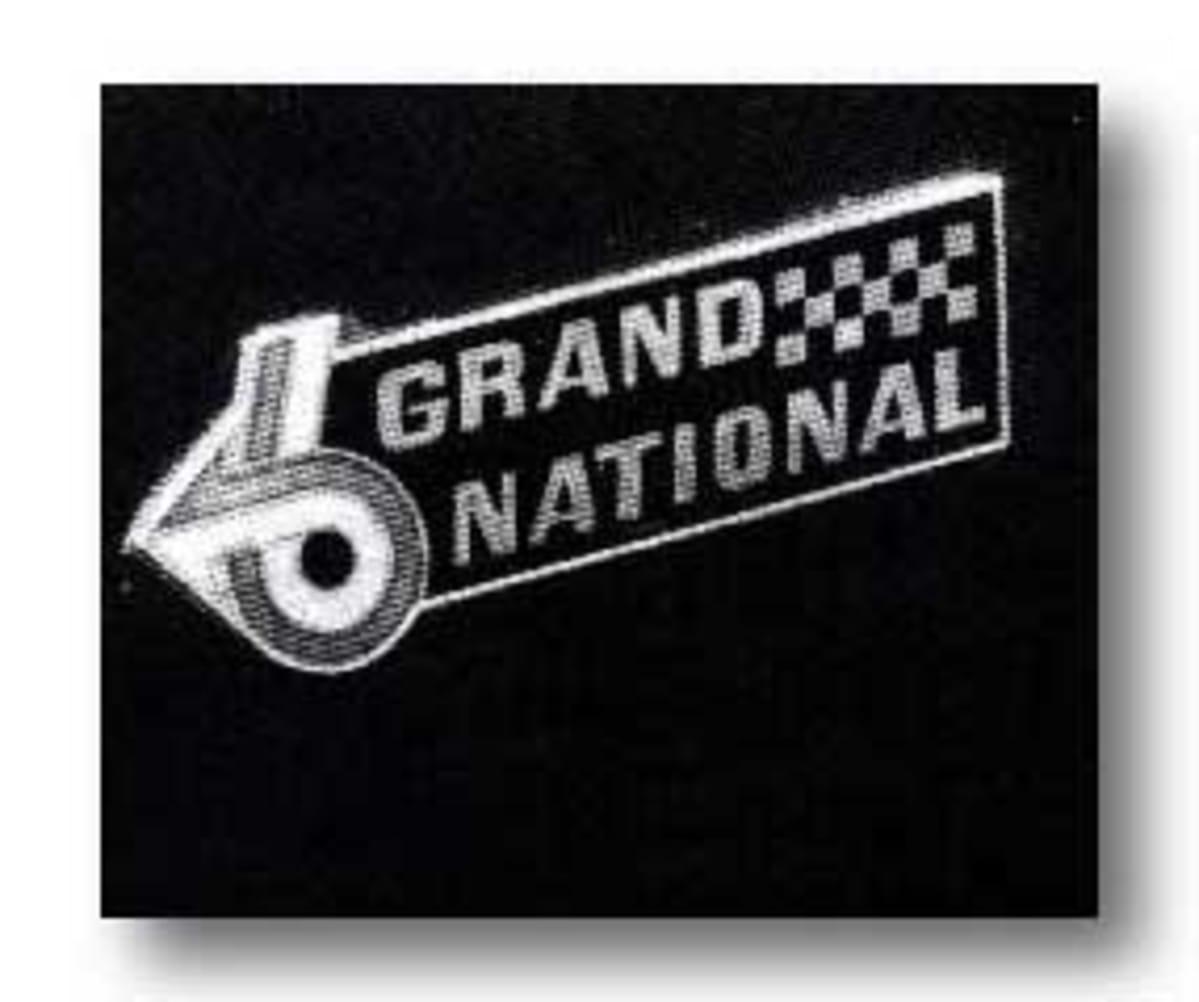 Grand National emblem (Paul Martinez)