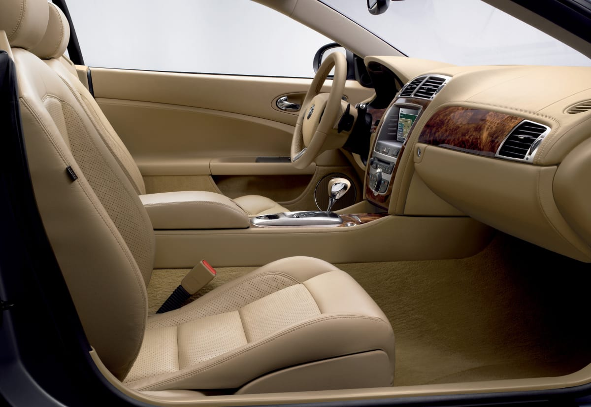 Jaguar XK. Car shown is from 2007-2008, but went largely unchanged up to 2011. Photo courtesy of Jaguar.