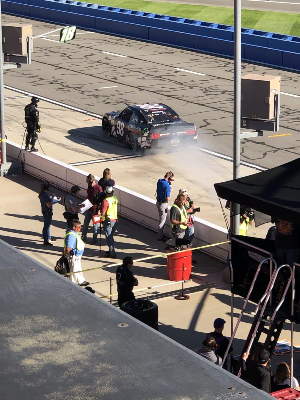 Xfinity Series, Auto Club Speedway, Fontana, CA