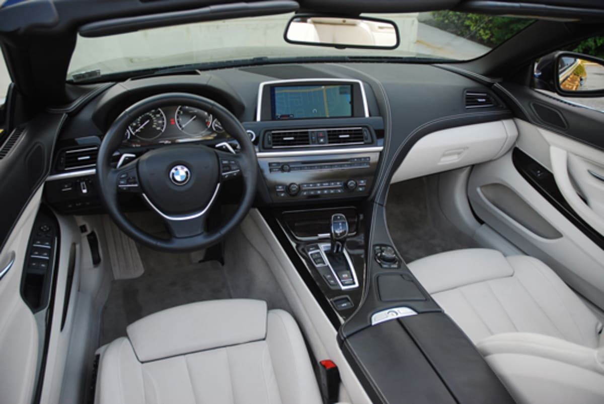 1-2012 BMW 650i Convertible Dashboard Done Small