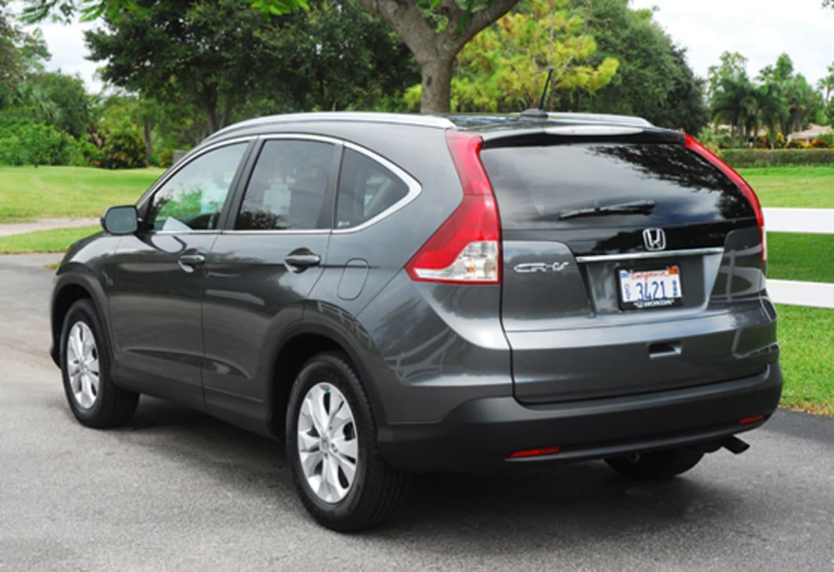 1-2012 Honda CRV EX-L Beauty Rear Done Small