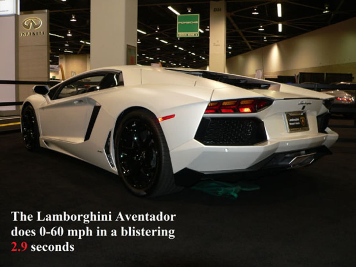 1LACar Lamborghini Aventador rearwithwords