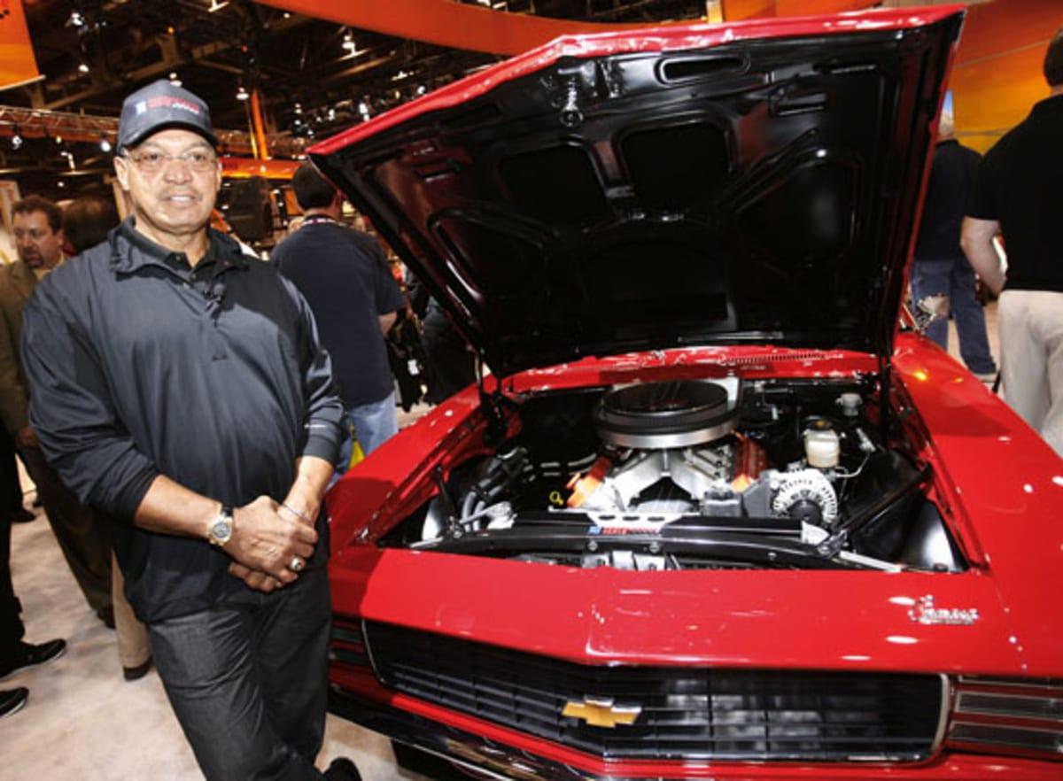 Reggie Jackson Chevrolet Camaro