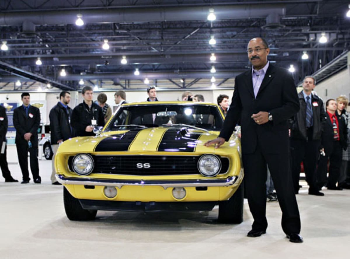 Ed Welburn At The Philadelphia International Auto Show