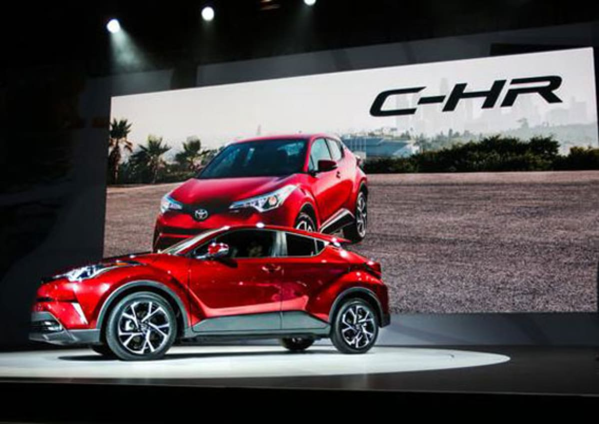 Toyota Debuts C-HR at Automobility