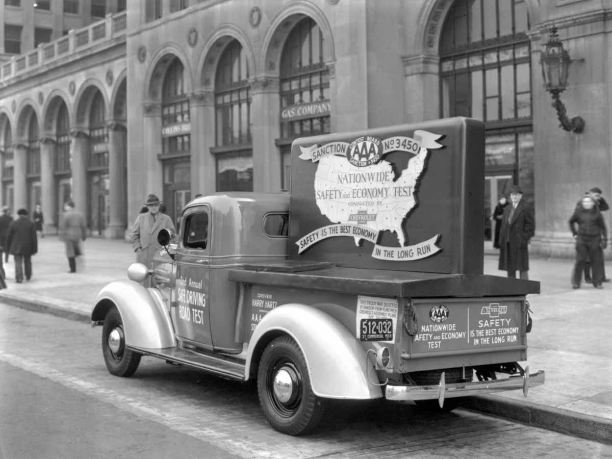 1937 Chevrolet GC Series, AAA 10,245 mile test