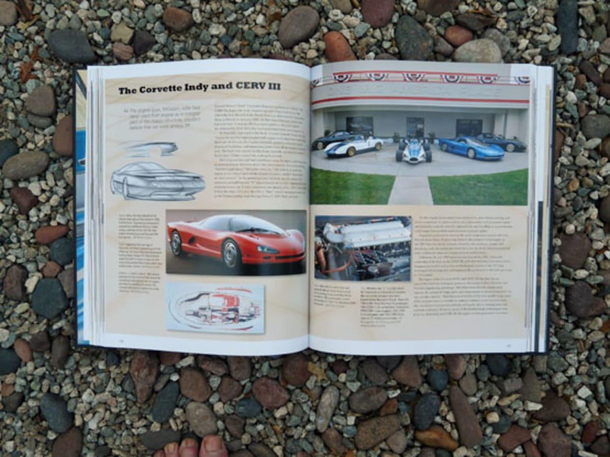 corvette-60-years-open-book