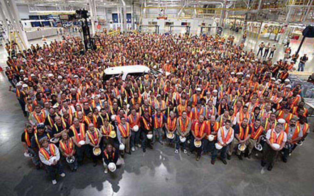Employees at Lansing Delta Township Facility
