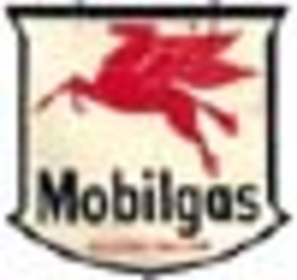 Old Mobil Gas Sign