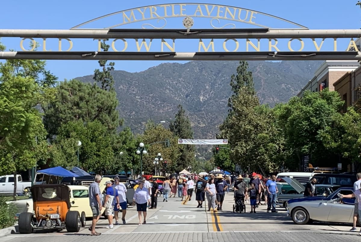 The 29th Annual Old Town Monrovia Car Show, hosted by Street Rods Forever. Photo by Roy Nakano