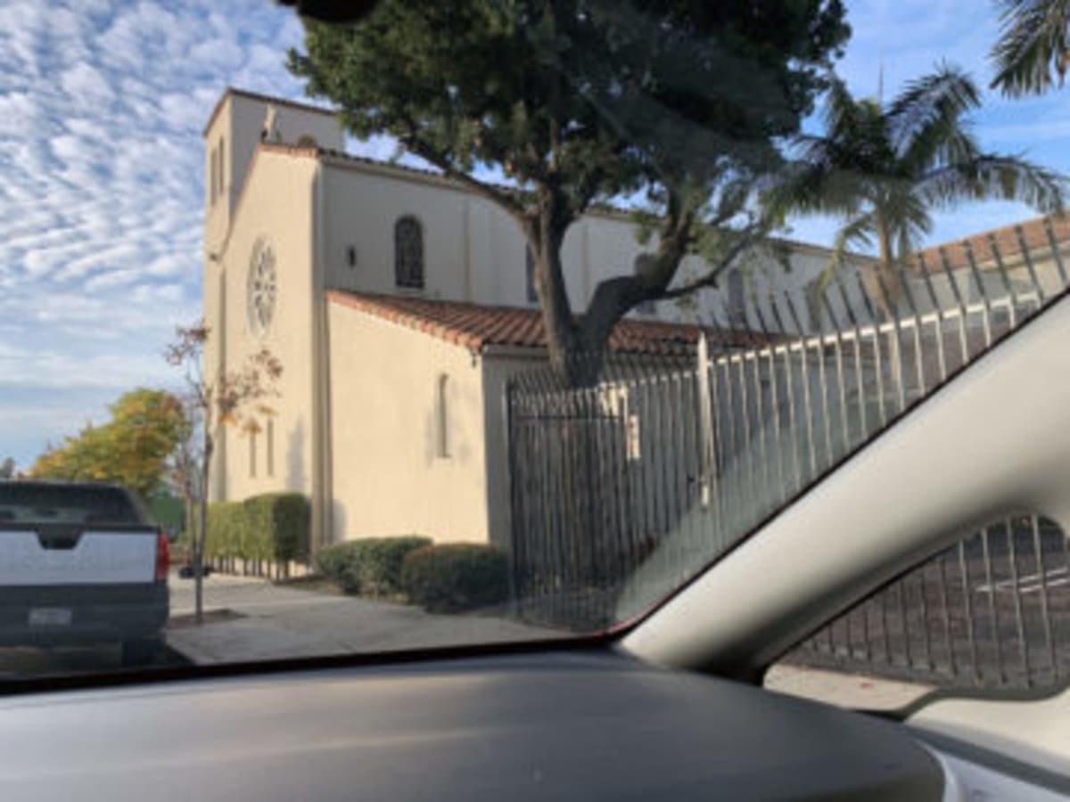 St Mary's Episcopal Church in Los Angeles' Koreatown provided housing in 1945-46 to Japanese Americans uprooted by Executive Order 9066. Photograph by Roy Nakano