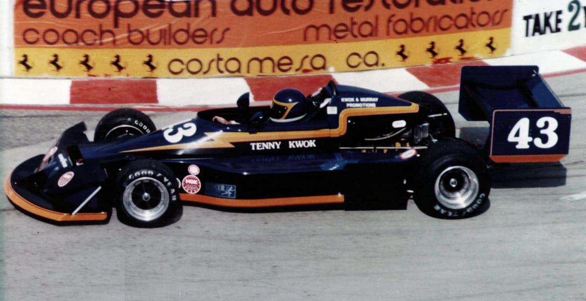 Tennyson Kwok's Formula Atlantic March 77B at the 1979 Long Beach Grand Prix