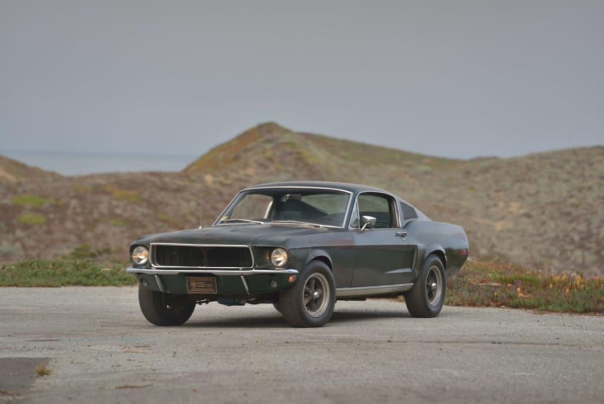 1968 Bullitt Mustang photo by David Newhardt