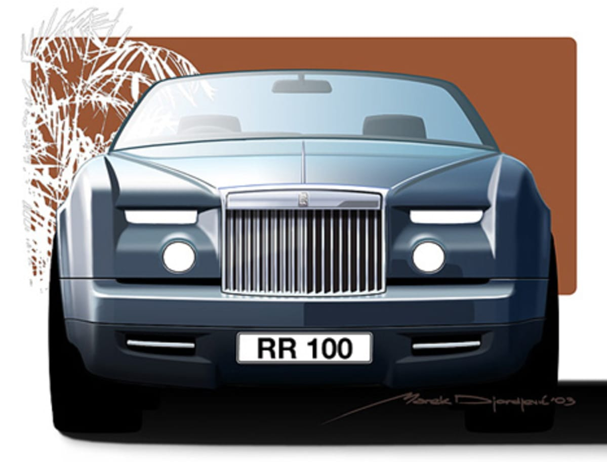Rolls Royce front design by Marek.
