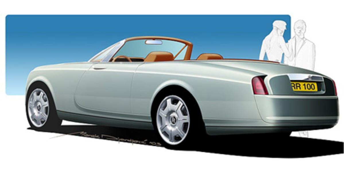 Rolls Royce convertible design