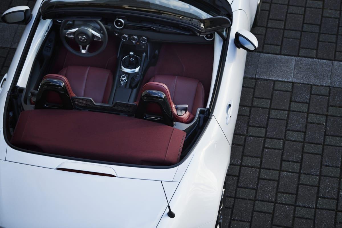 100Th Anniversary Mazda MX-5 Miata interior