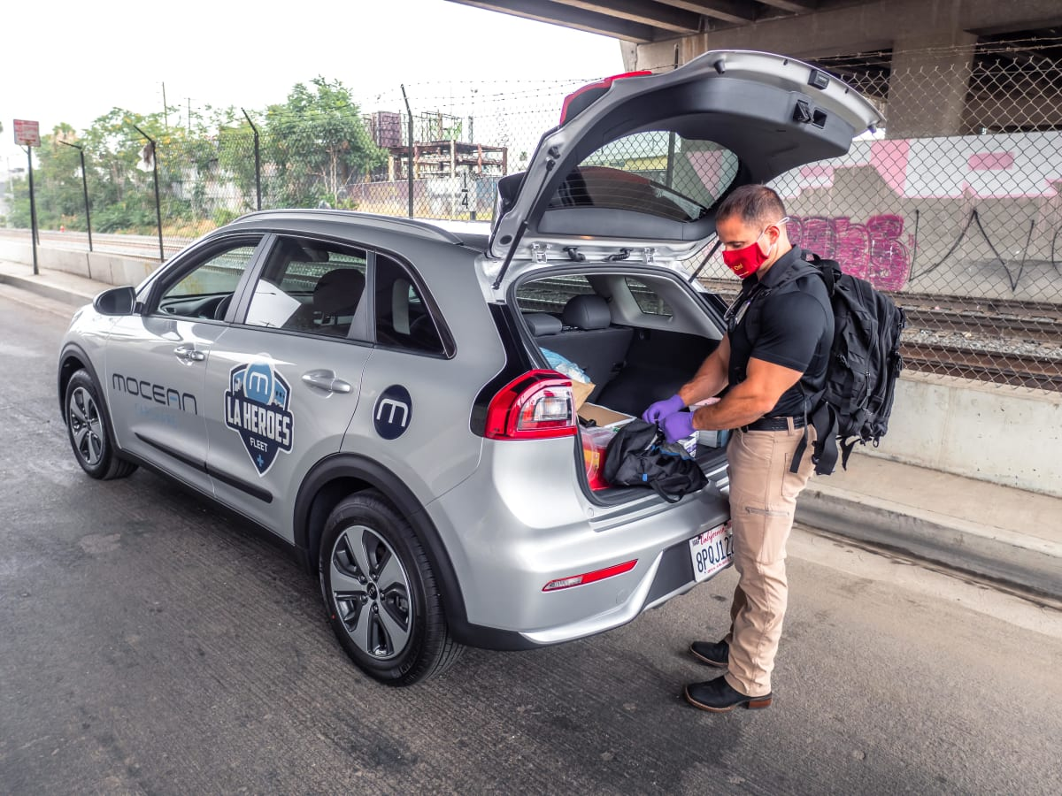Hyundai Motor Group provides mobility support to the homeless residents of Los Angeles with MoceanLab.