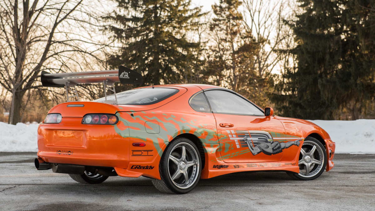 1993 Toyota Supra 'The Fast and the Furious'. Photo credit: Mecum Auctions