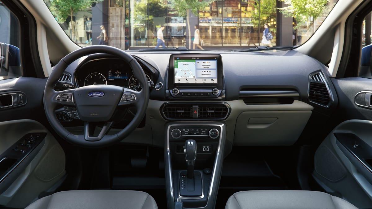 Ford EcoSport Titanium interior (FoMoCo photo)