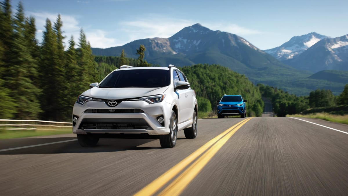 Photo by Toyota. SE Hybrid trim pictured.