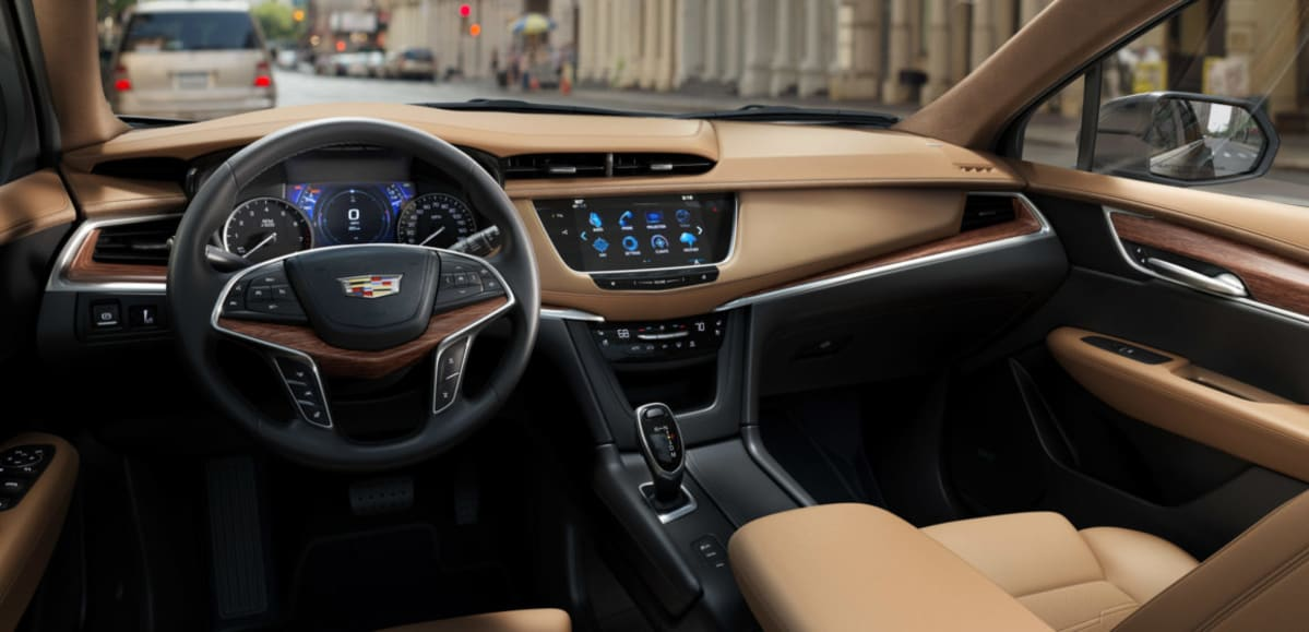 2019 Cadillac XT5 – full of leather and luxury.