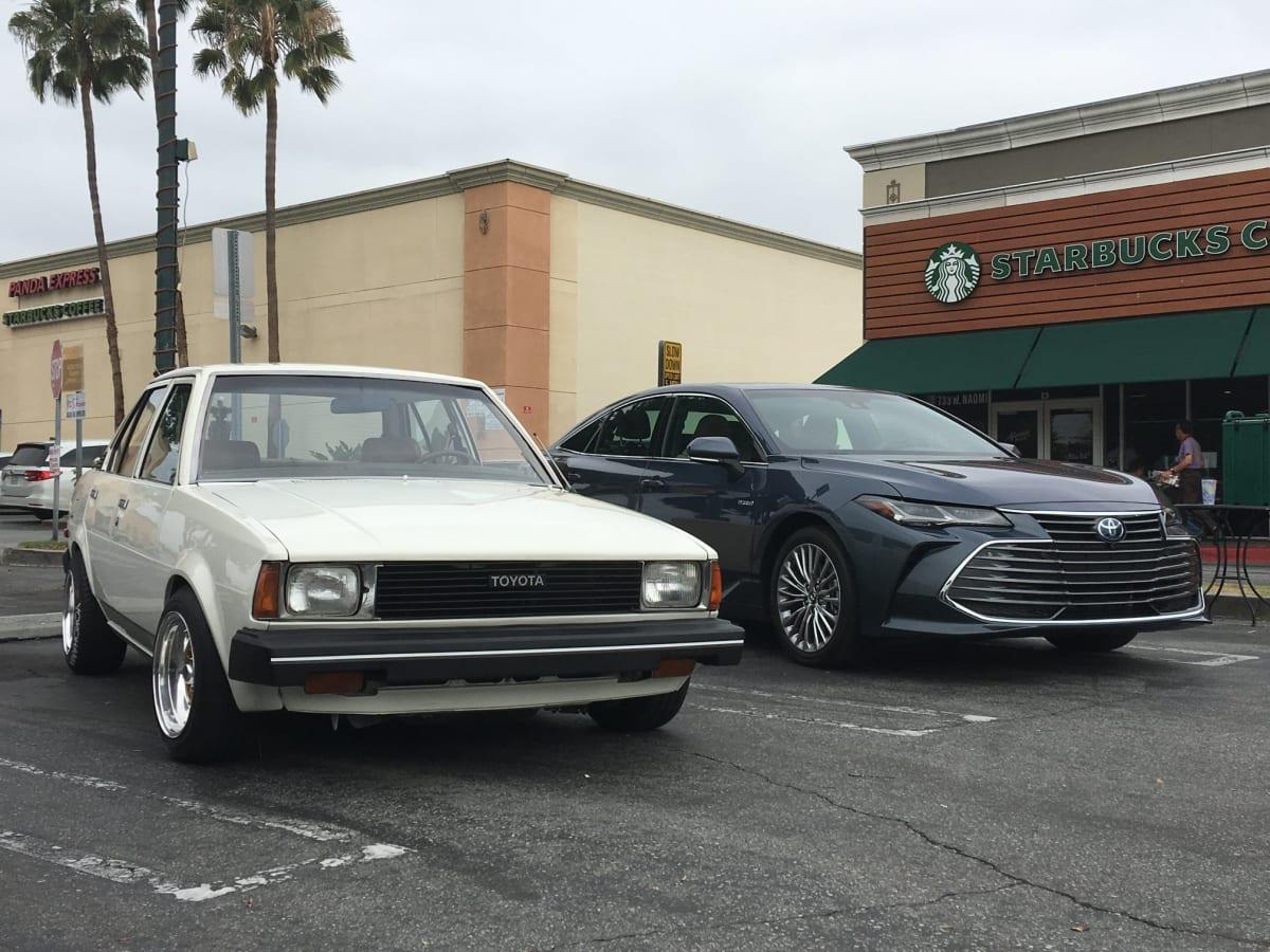 Toyota Sedans at Carcadia – Past & Present