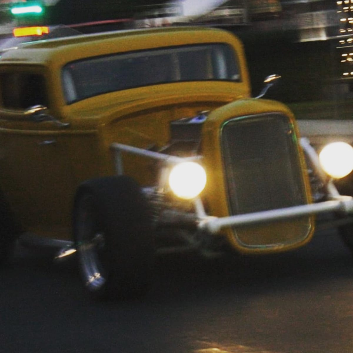 Dave's hot rod's exhaust doesn't mix well with camera lenses...