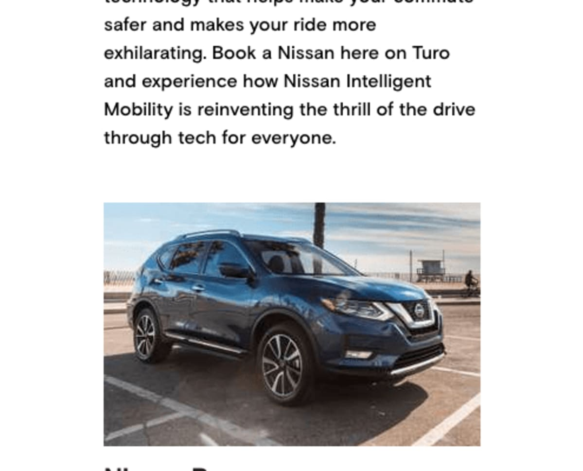 Nissan Experience Test Drive