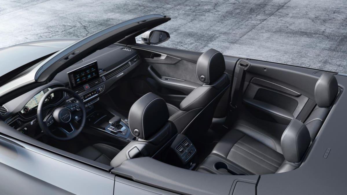 2020 Audi A5 Cabriolet interior