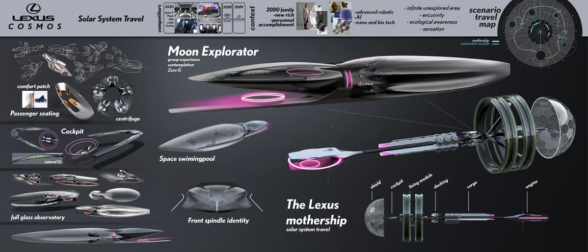 Lexus Cosmos, by Jean-Baptiste Henry