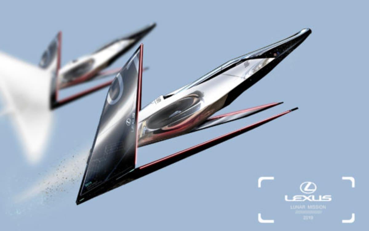 Lexus Lunar Mission, by Yung Presciutti