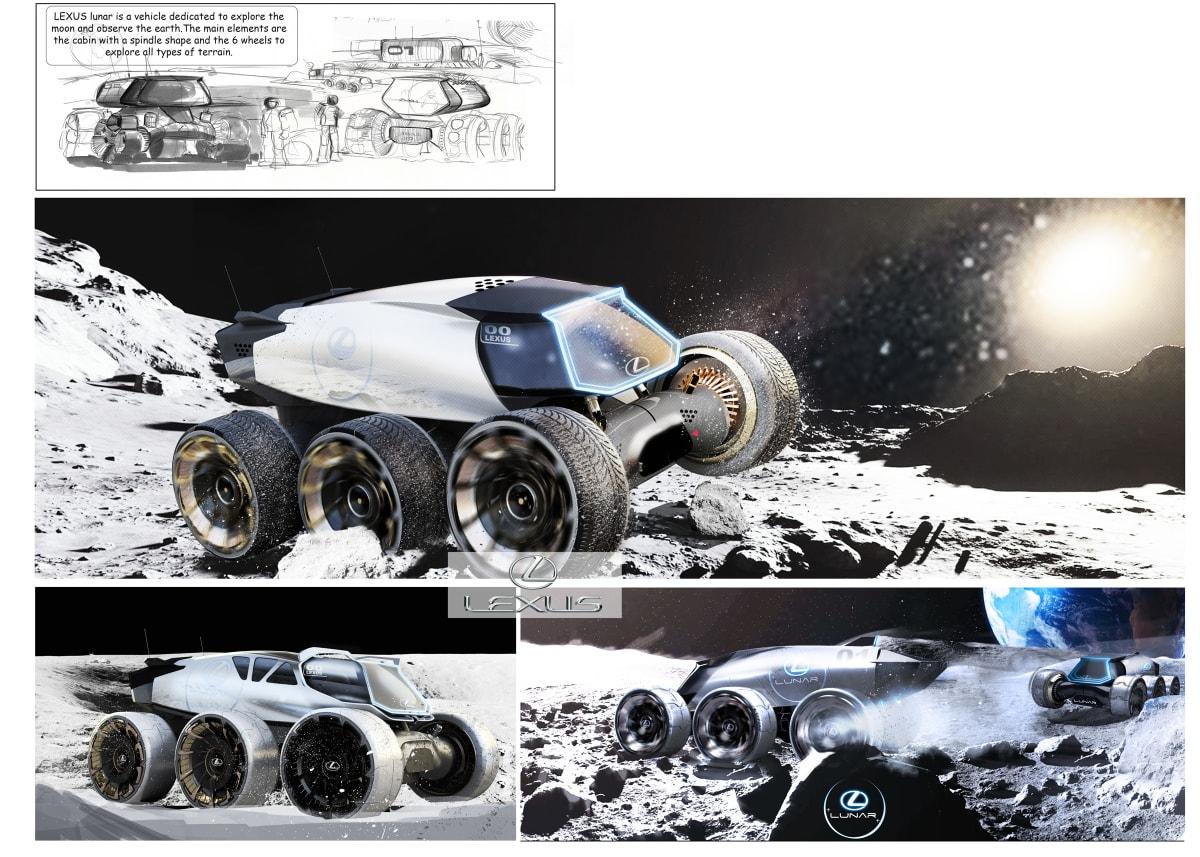 Lexus Lunar, by Yung Presciutti