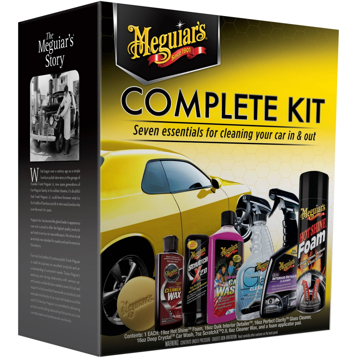 Meguiar's Complete Car Care Kit. Photo courtesy of WalMart. Holiday Gift Guide