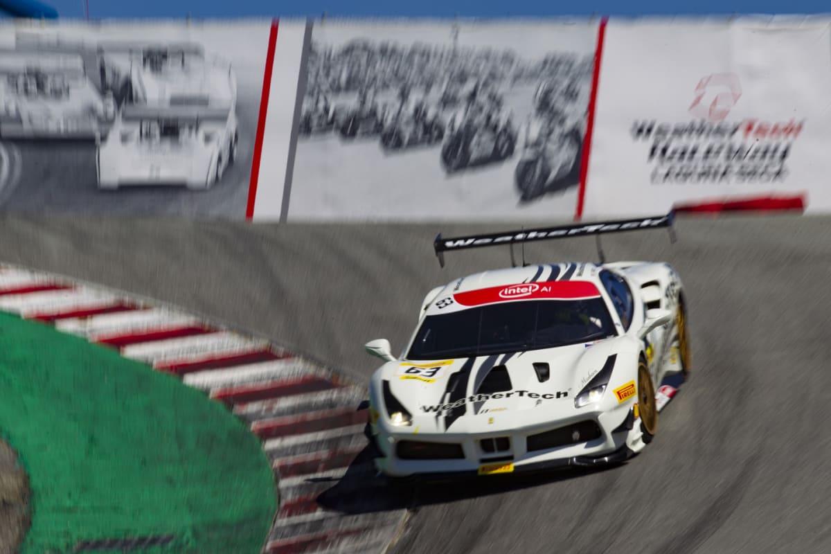 A Ferrari 488 Challenge Evo in the