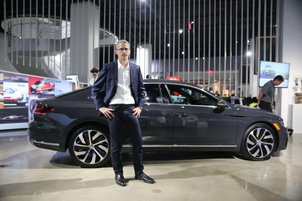 Reto Brun, Director of Volkswagen Design Center California (DCC)