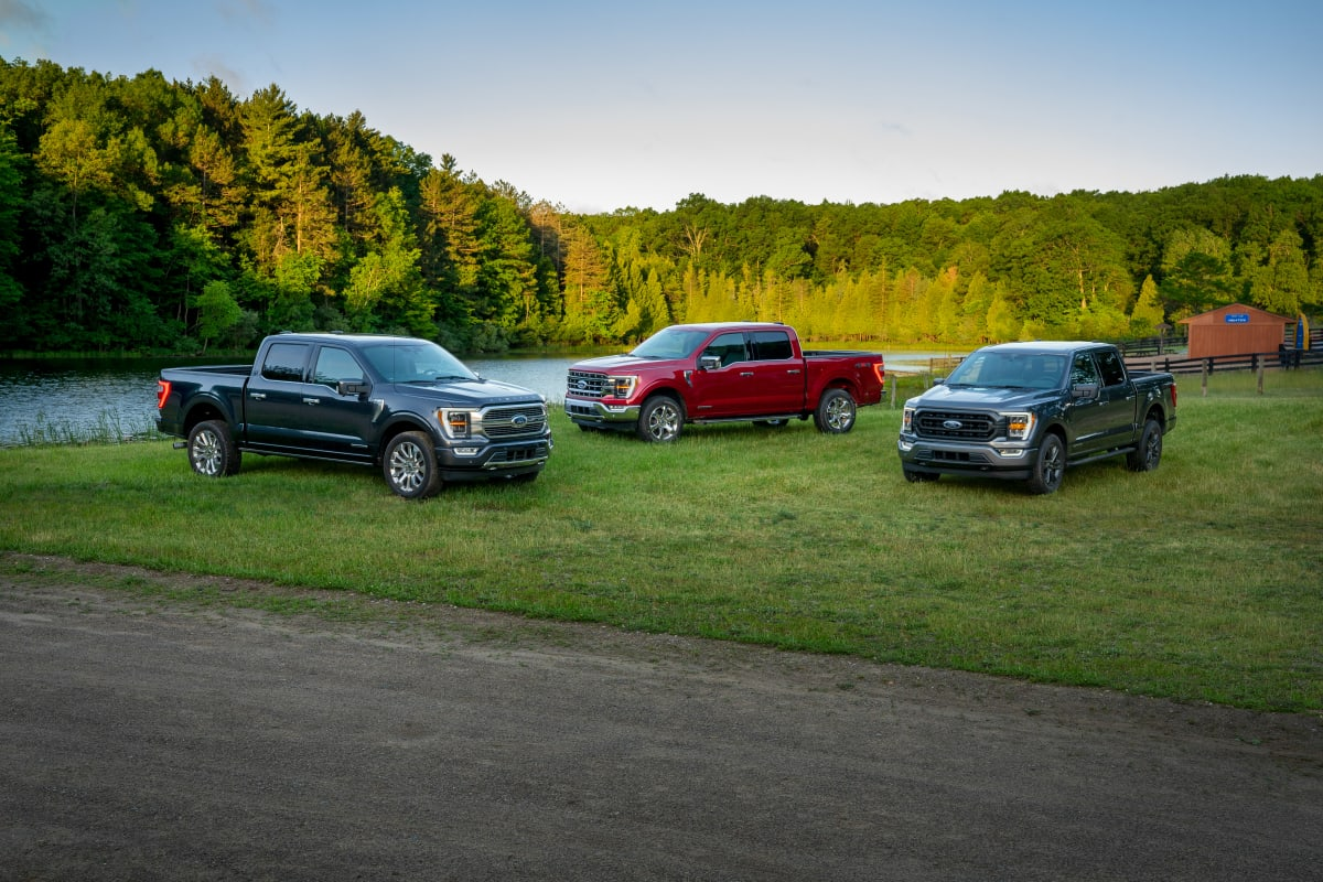 The all-new 2021 Ford F-150