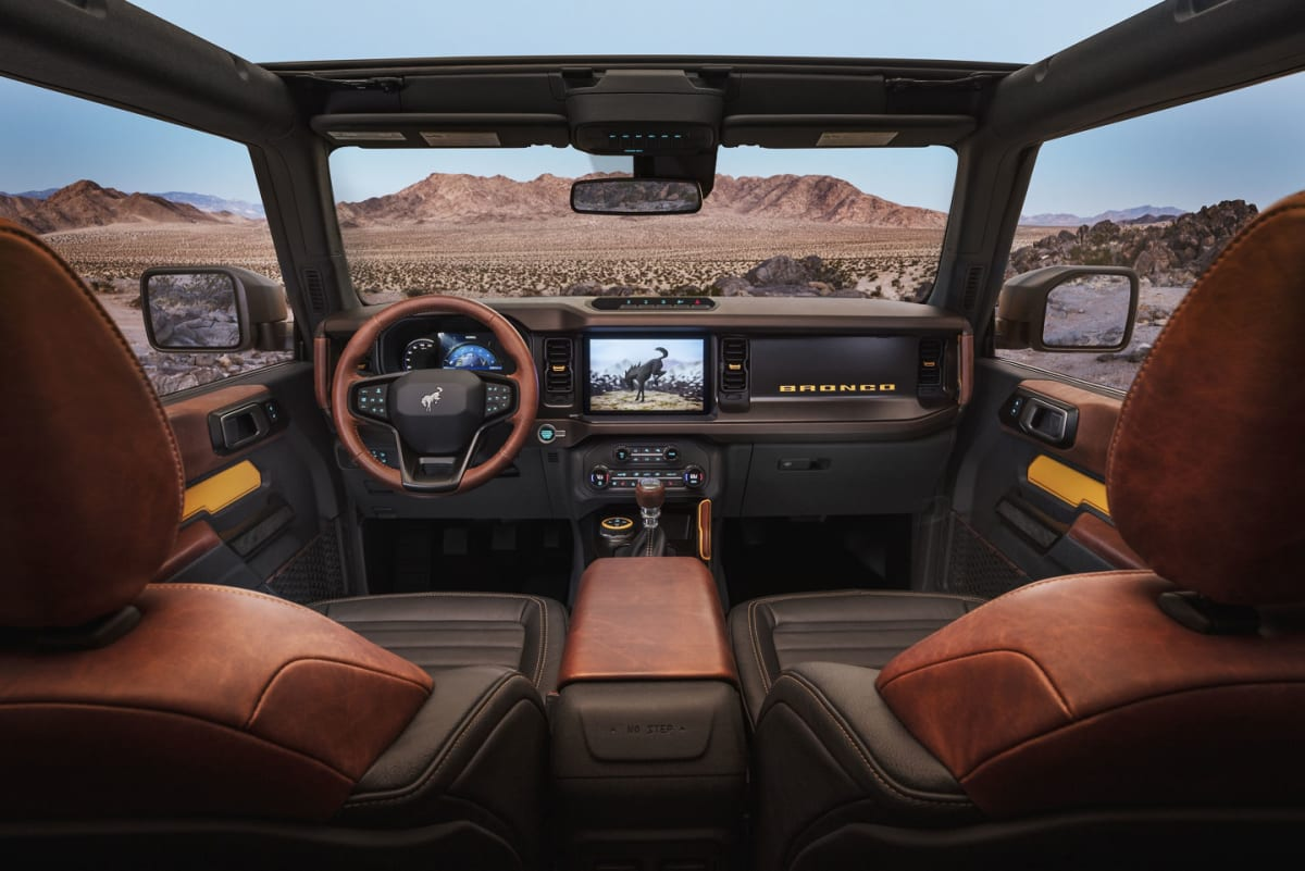 Win a Custom 2021 Ford Bronco First Edition from Galpin Ford