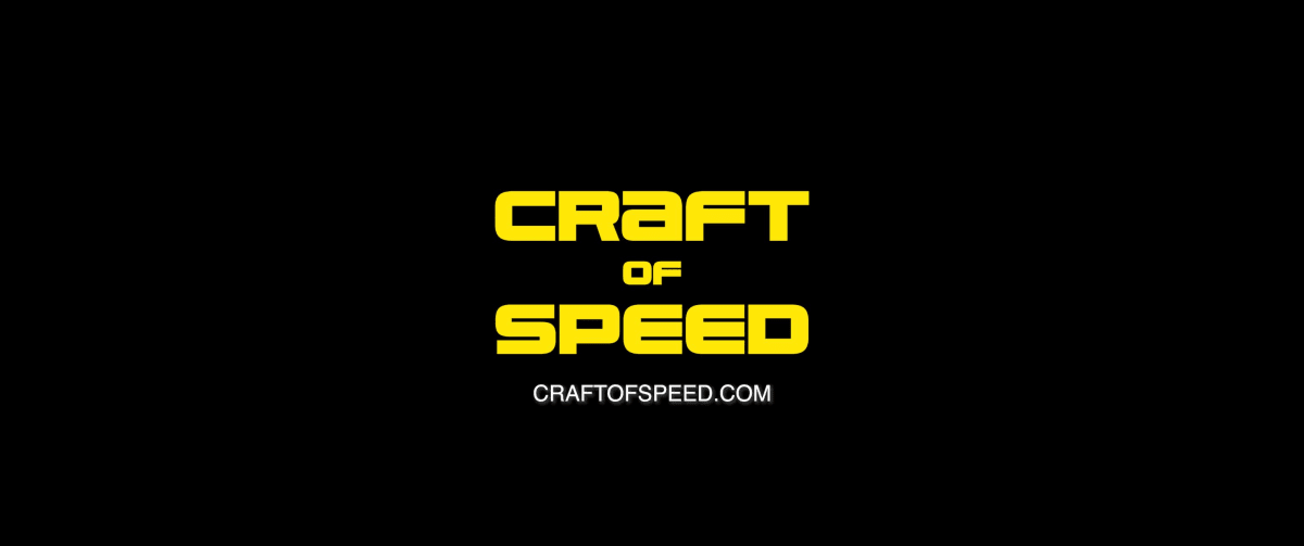 """Craft of Speed"" end title."