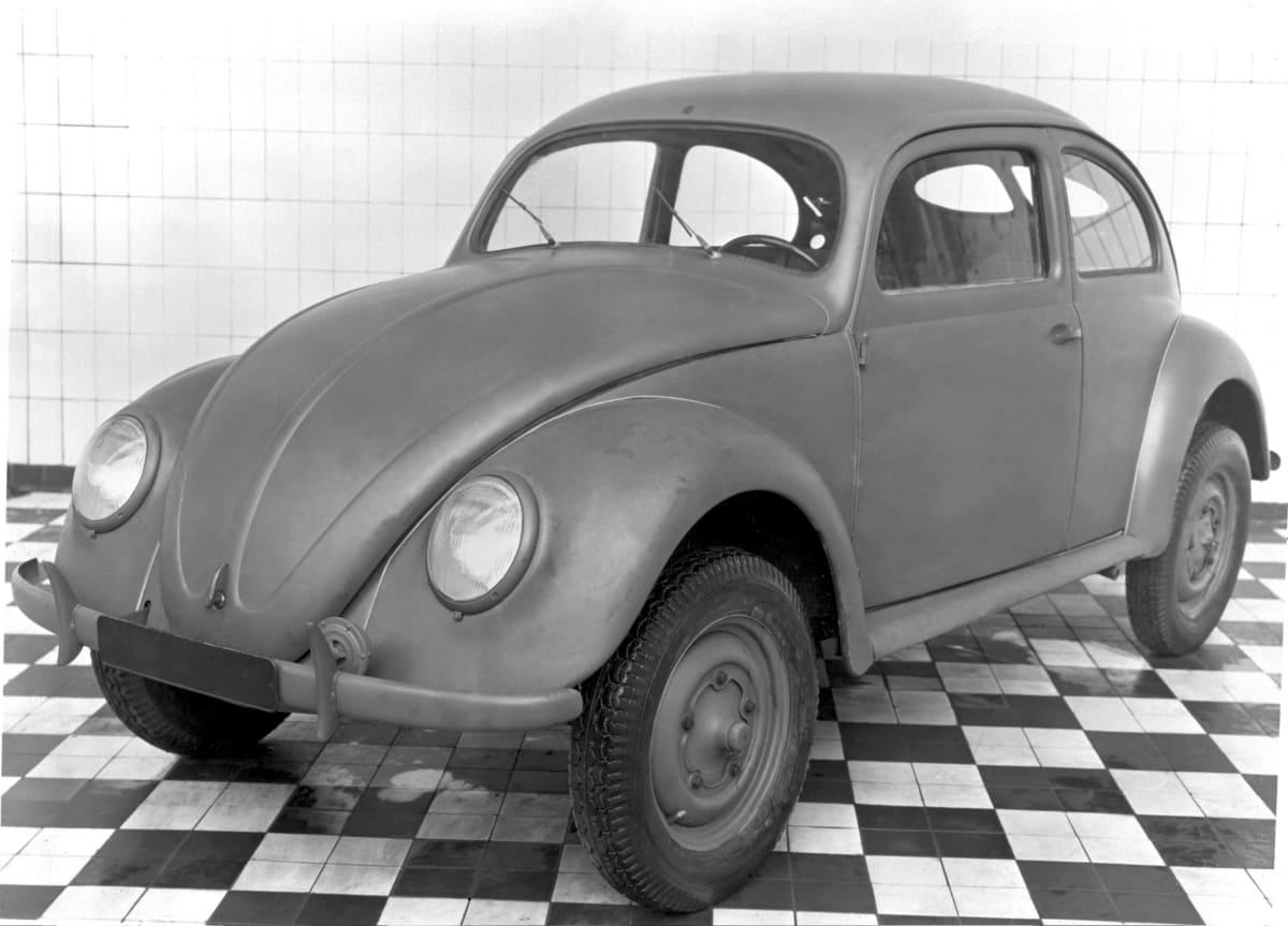 """Volkswagen Type 1, the """"Beetle"""". Copyright: Volkswagen AG"""