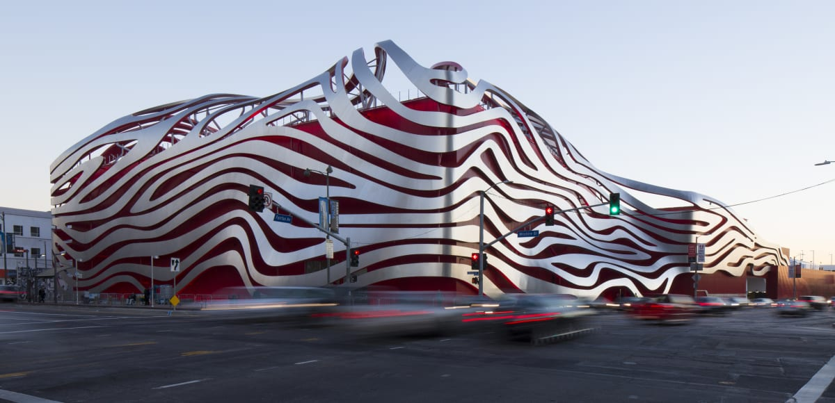 The Petersen Automotive Museum. Photo by David Zaitz.