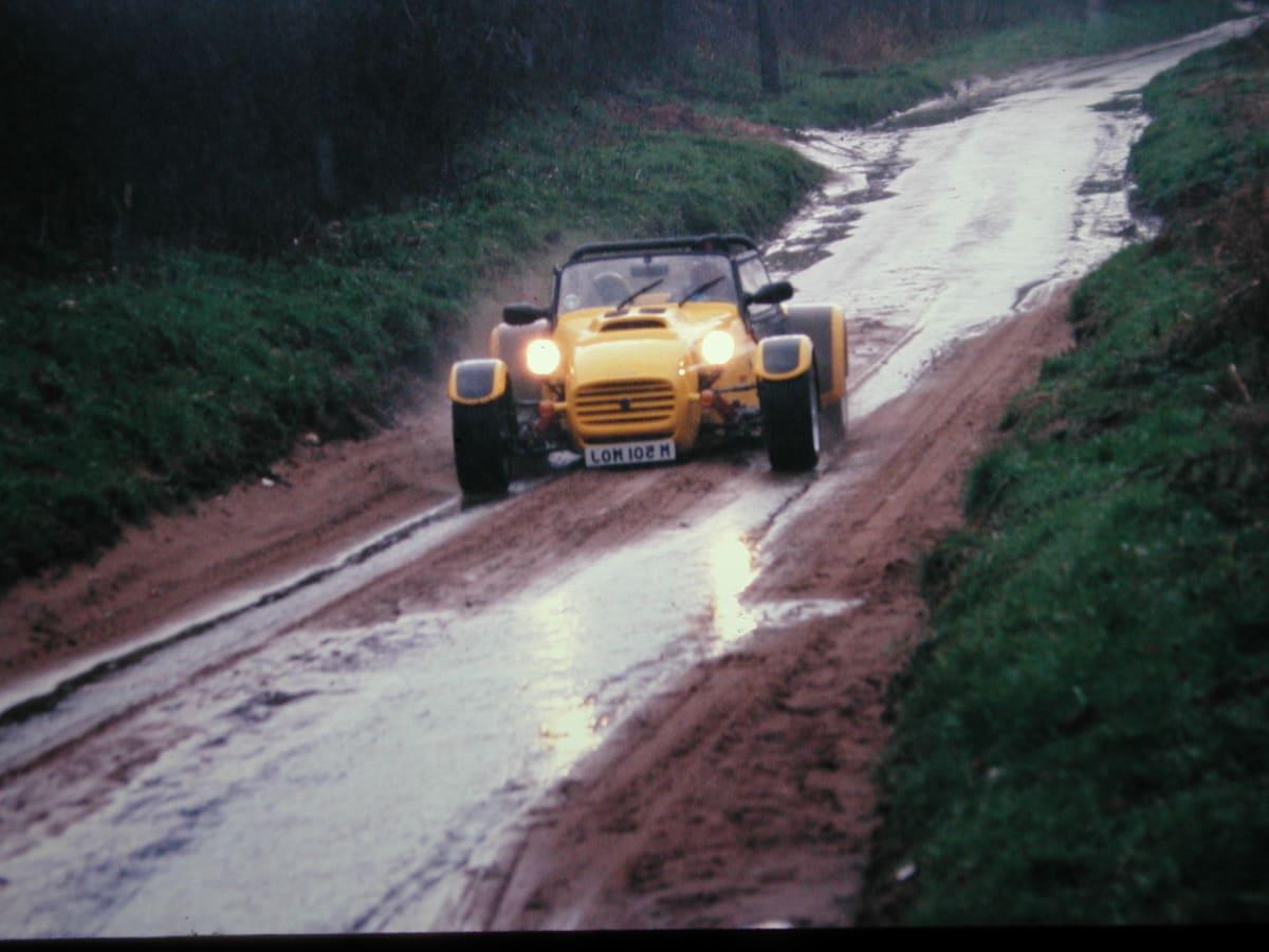 Westfield Roadster (Len Frank)