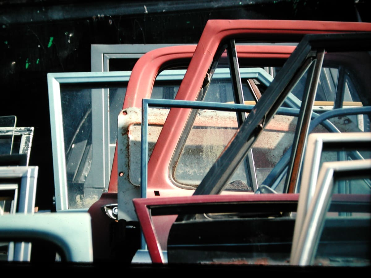 Car doors (Len Frank)