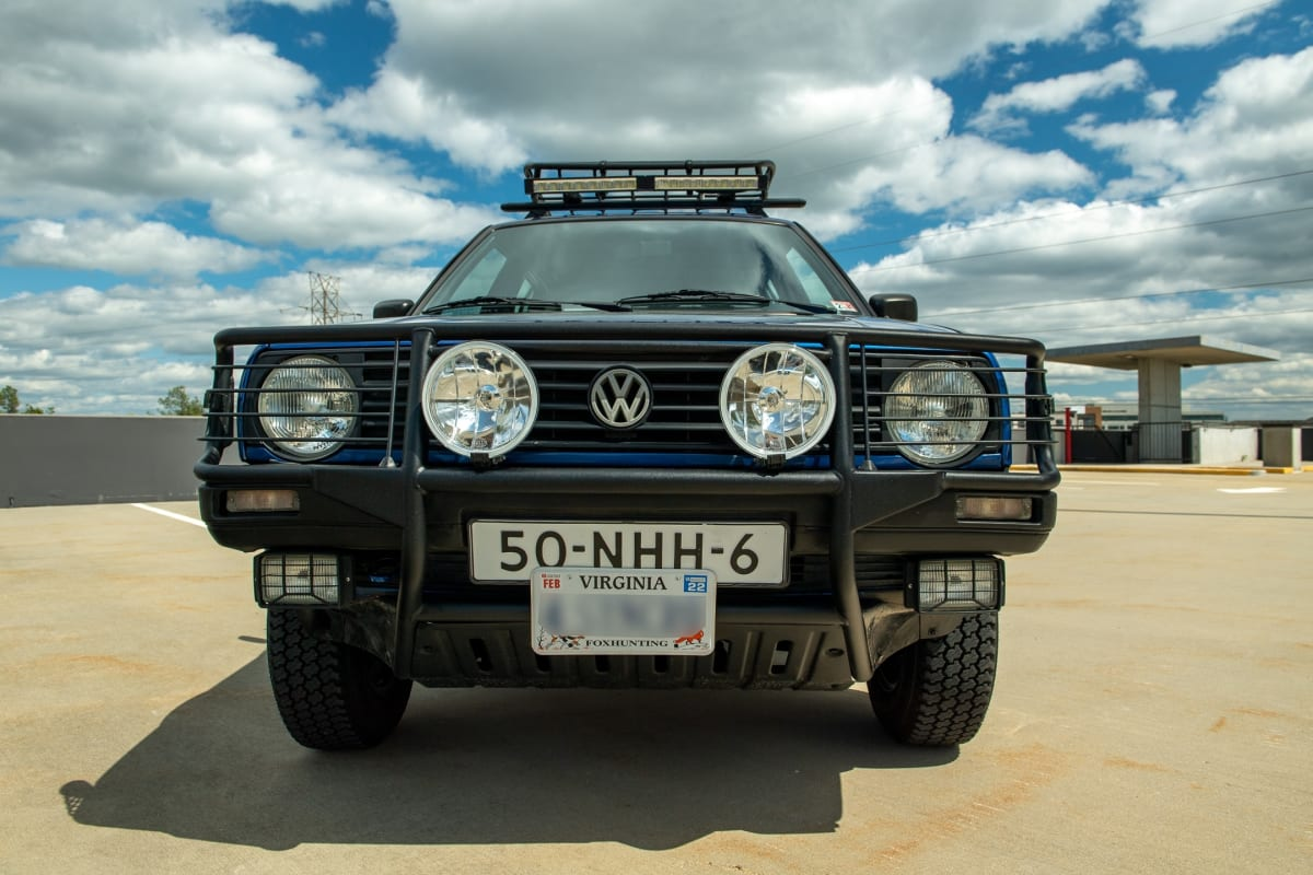 Volkswagen Golf Country. Photo courtesy of the Petersen Automotive Museum.