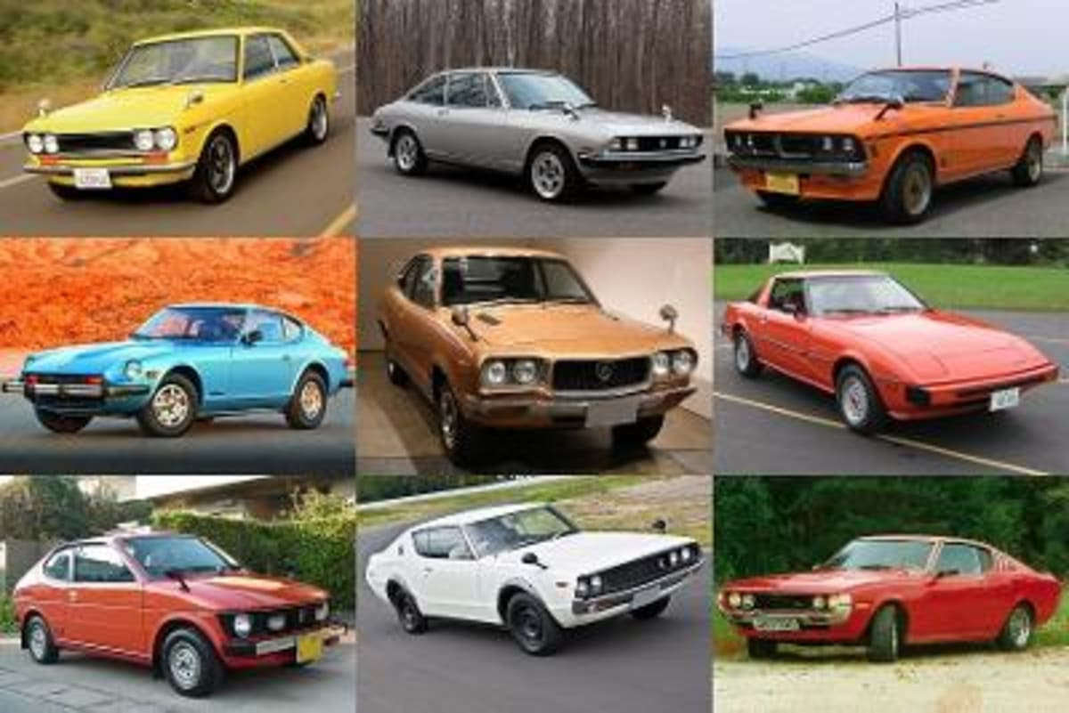The Japanese started their US invasion in full force in the early 70s with efficient, reliable and very affordable cars. This was before the supercomputer era.