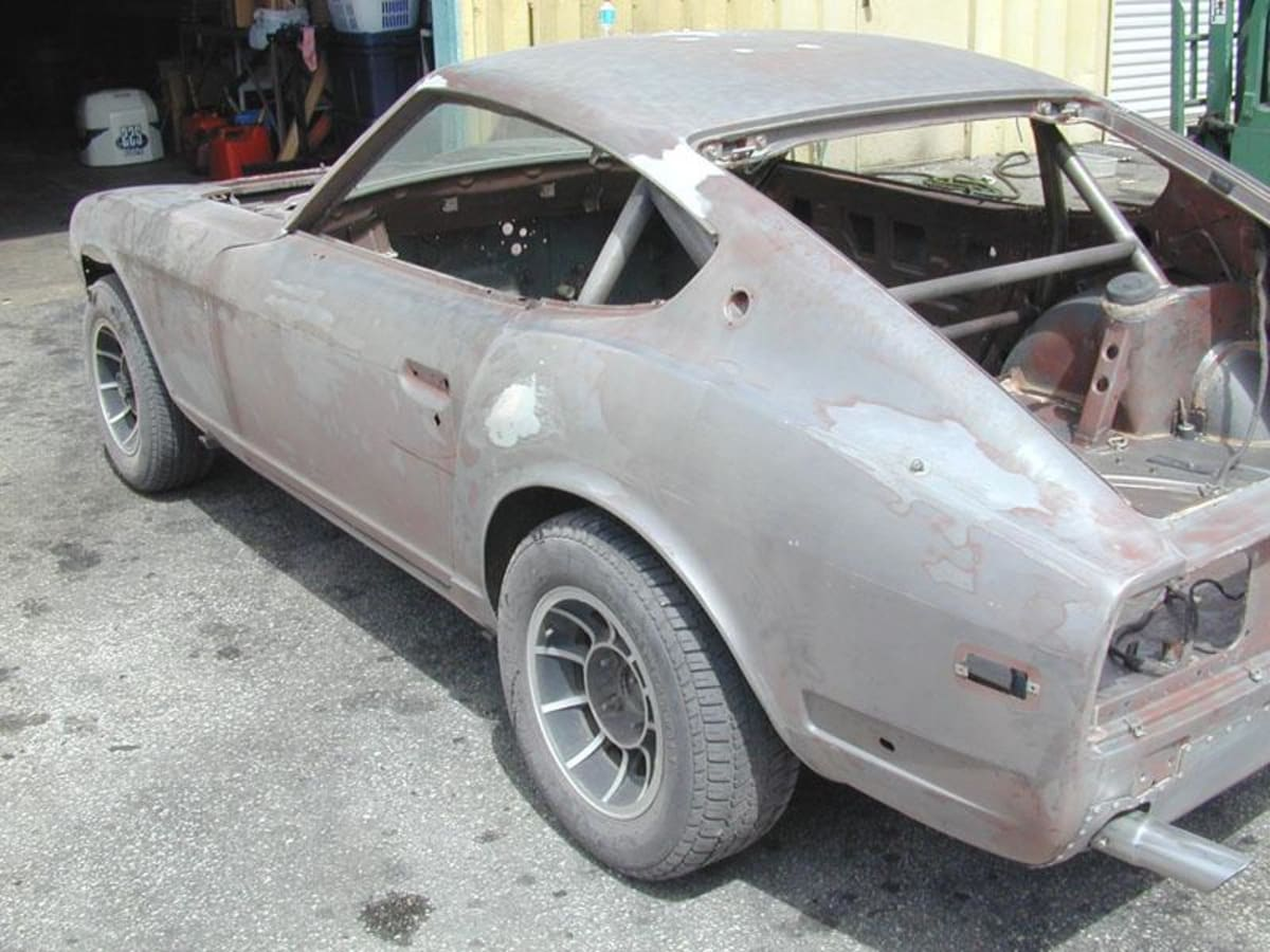 """The restoration project back to """"as raced"""" started…"""