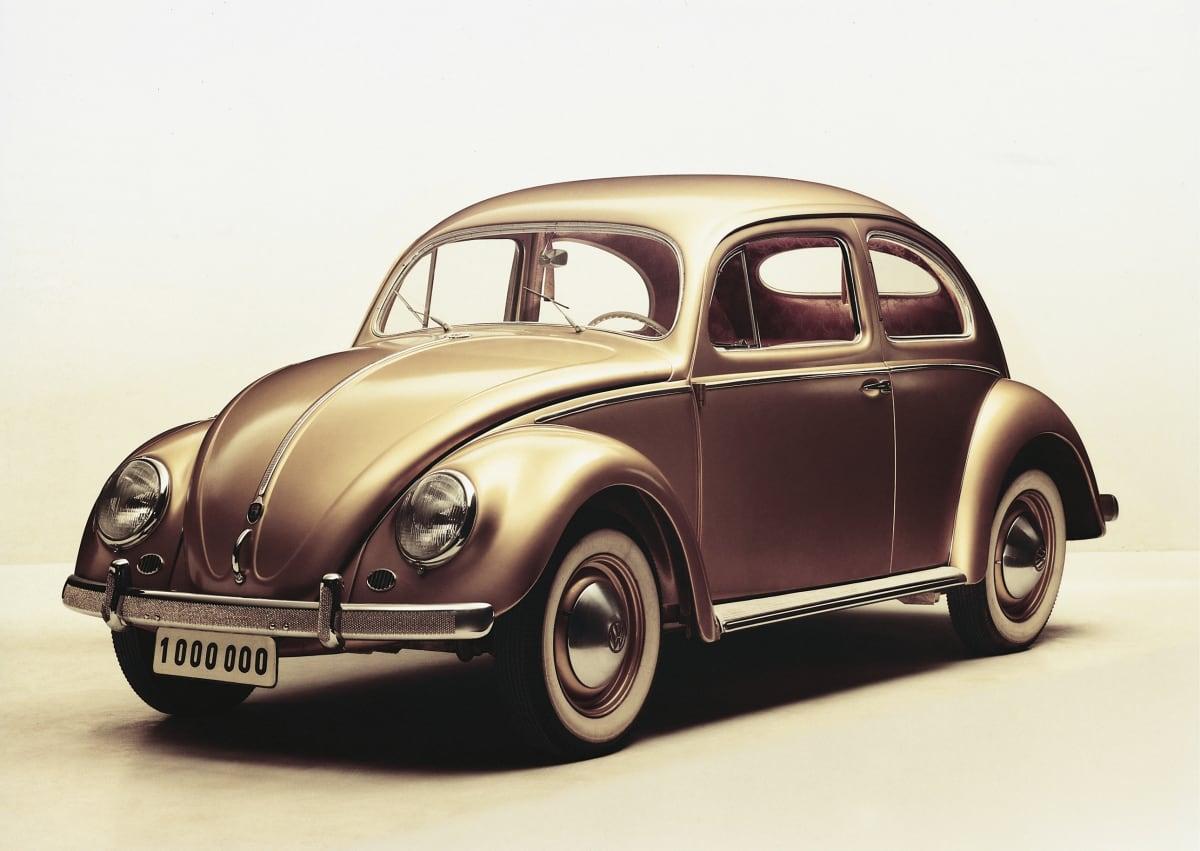 1 millionth volkswagen beetle gold bug