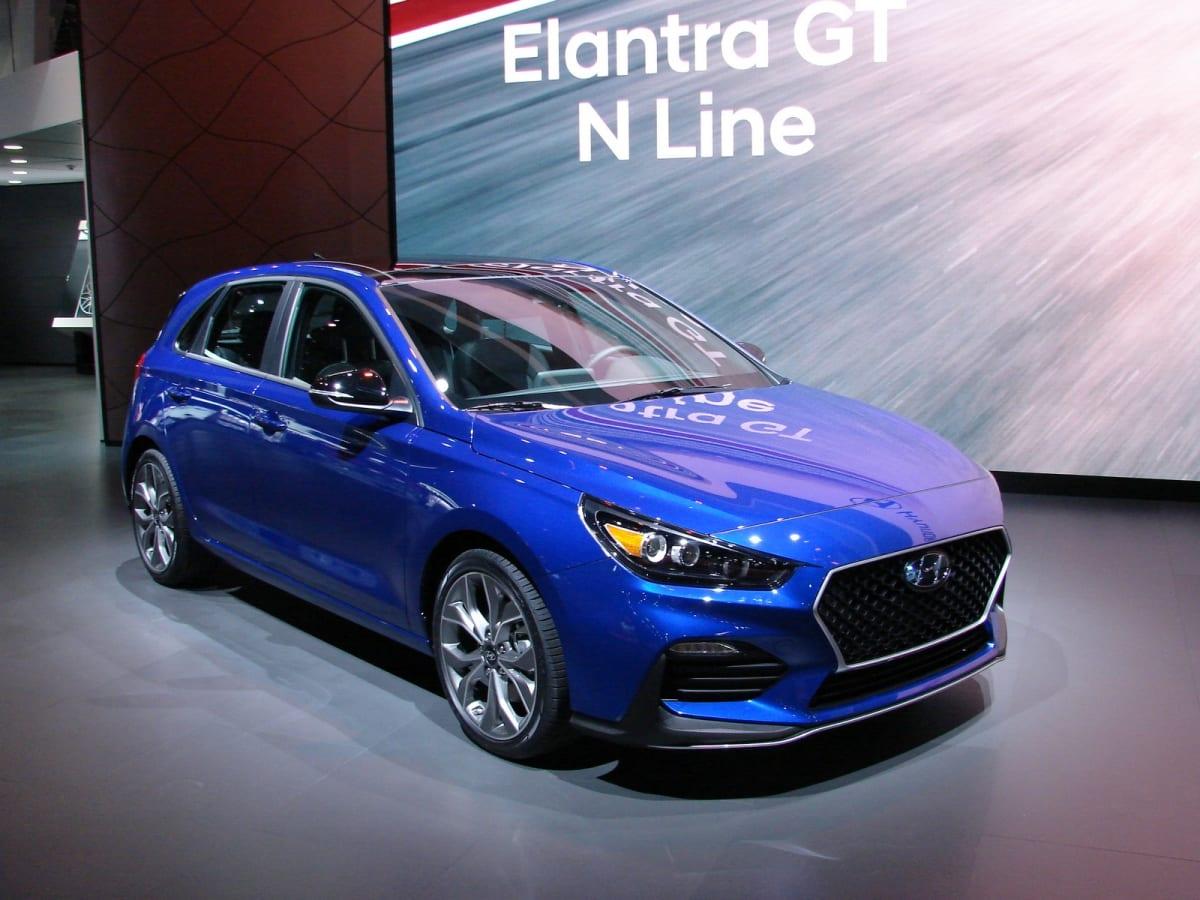 Hyundai introduced the Elantra GT N-Line (Mark Dapoz)