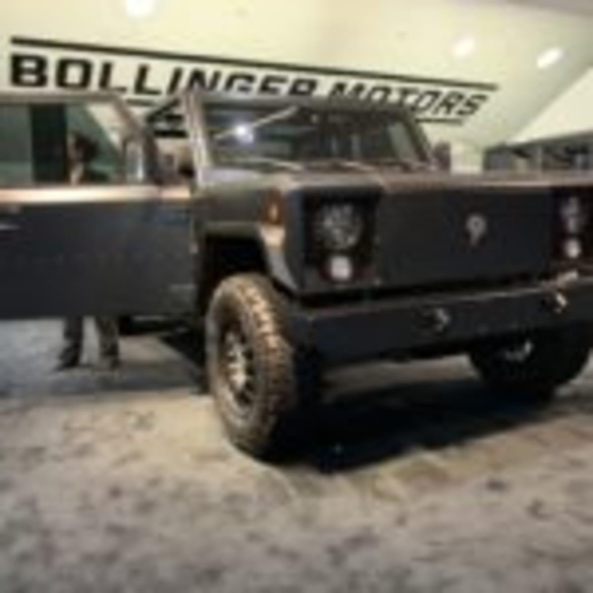 Bollinger's B2 pickup truck makes its auto show debut (Nakano)
