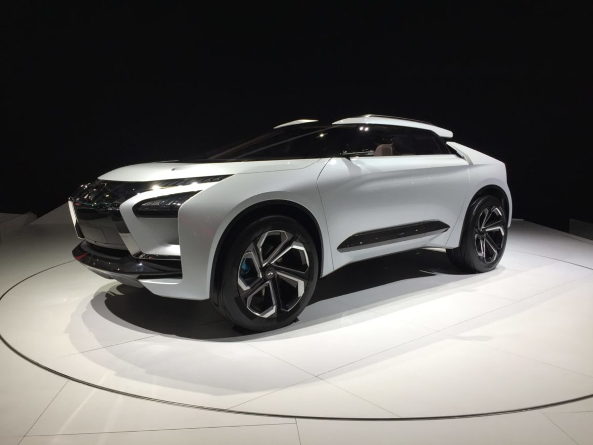 Mitsubishi e-Evo concept at the LA Auto Show